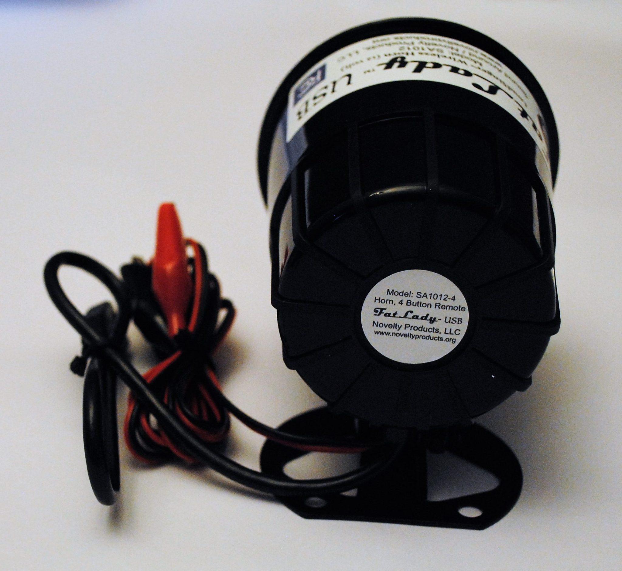 Georgia Tech Yellow Jackets USB Car Horn with Wireless KeyFOB Remote