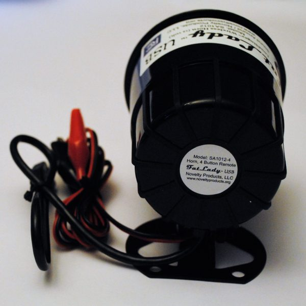 University of Illinois Fighting Illini USB Car Horn with Wireless KeyFOB Remote