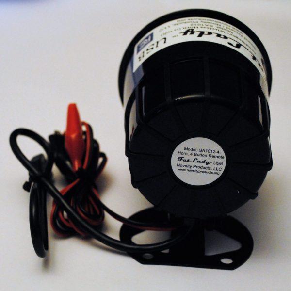 Wolf Howl USB Car Horn with Wireless KeyFOB Remote